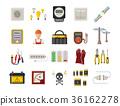 vector, icon, plug 36162278