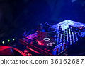 DJ is rhythm music with Controller and mixer. 36162687