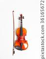 Violin in a white background 36165672