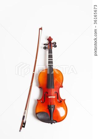 Violin in a white background 36165673
