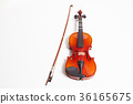 Violin in a white background 36165675