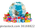 Global Christmas and New Year concept 36168822