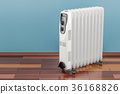 Electric oil heater, oil-filled radiator 36168826