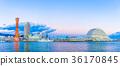 Scenery of Kobe Port, Twilight 36170845