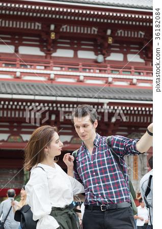 入境旅遊文化體驗神社 36182084