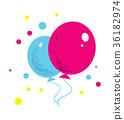 氣球 汽球 向量 36182974