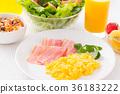 건강한 아침 식사 36183222