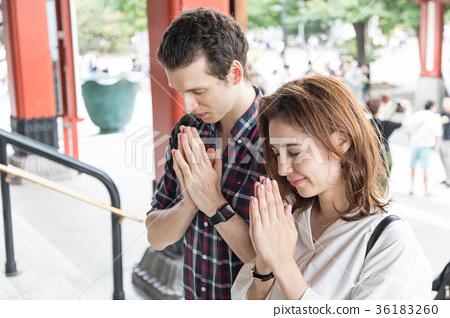 Inbound Tourist Culture Experience Shrine Visit Pray 36183260