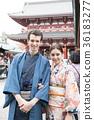 入境旅遊文化體驗神社和服 36183277