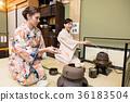 入境旅遊文化體驗茶道 36183504