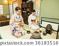 入境旅遊文化體驗茶道 36183516