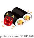 節日 惠方壽司卷 壽司 36185160
