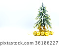 Christmas or New Year background with pine cones 36186227