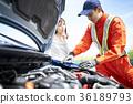 男人和女人 男女 引擎罩 36189793