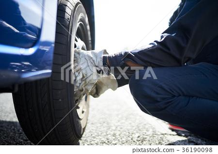Road service men 36190098