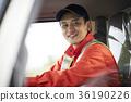 一個男人開車 36190226