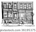 Houses in Greenwich Village New York City 36195375