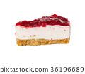 ชีสเค้ก,สตรอเบอร์รี่,ของหวาน 36196689
