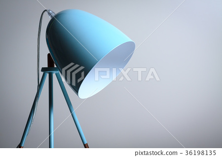Table lamp in turquoise colours. 36198135