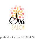 logo, vector, salon 36198474