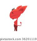 devil, satan, vector 36201119