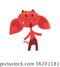 devil, vector, imp 36201181