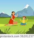 野餐 家庭 家族 36201237