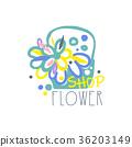 flower, vector, design 36203149