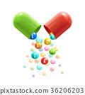 vitamin, complex, poster 36206203