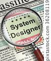 System Designer Hiring Now. 3D. 36208119