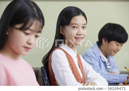 학원,교실,학생 36209472