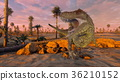 動物 恐龍 CG 36210152