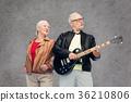 couple, senior, guitar 36210806