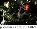 순록, 장식품, 크리스마스 36214026