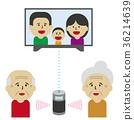 speaker, elder, elderly 36214639