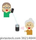 speaker, elder, elderly 36214644