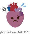 약해진 심장 질환 장기 캐릭터 36217301