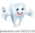 Dental Tooth Mascot 36222118