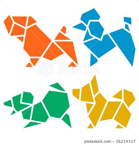 Origami Dogs – VIERECK VERLAG   468x450