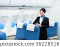 cabin, attendant, female 36228516