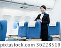 cabin, attendant, female 36228519