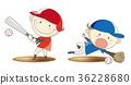 男孩棒球集合行動圖像 36228680