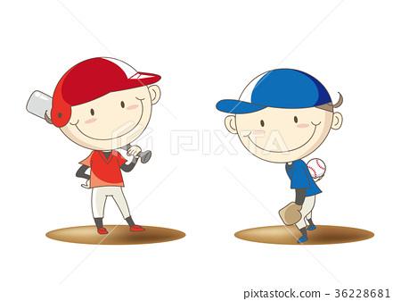 少年棒球集姿势 36228681