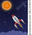 火箭 空间 矢量 36234943
