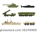 Military army transport technic vector war tanks 36240969