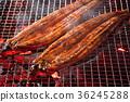 鱔魚 噴鼻蒲燒烤 盛夏的公牛 36245288