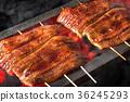 鱔魚 噴鼻蒲燒烤 盛夏的公牛 36245293