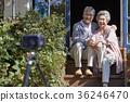 노인, 부부, 사진촬영 36246470