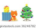 คริสต์มาส,ต้นคริสต์มาส,ของขวัญ 36246782