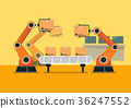 Automation robot arm machine 36247552